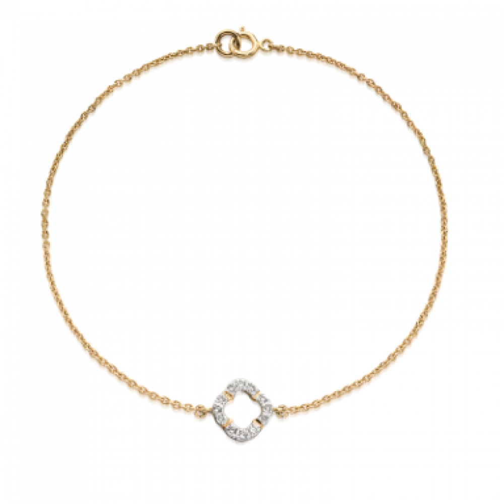 bracelet single hallmarked for julia diamond in women jewellery solitaire line gold bangles